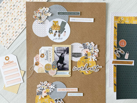 My Layout Process   By Vanessa Taconelli