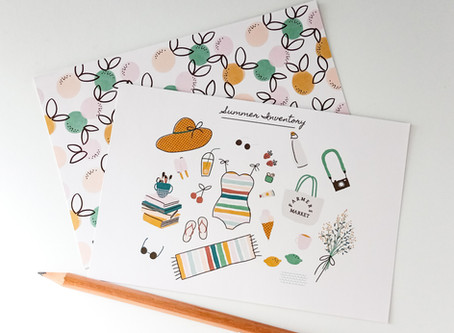 NEW in SHOP | LAZY DAYS of SUMMER | + FREEBIE