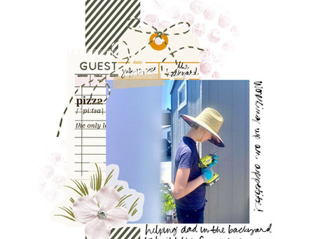 Create a Digital Scrapbook Page in GoodNotes | Jess Griffin