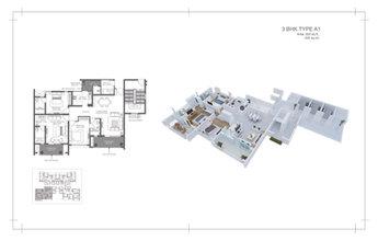 2d + 3d floor plan