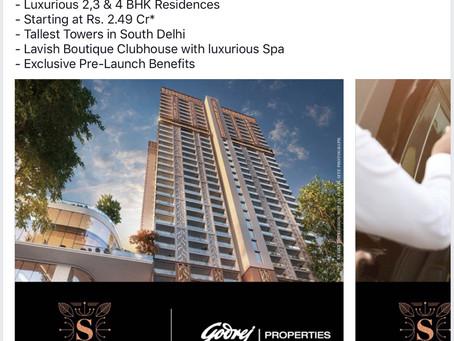 Godrej Properties, South estate, Delhi.