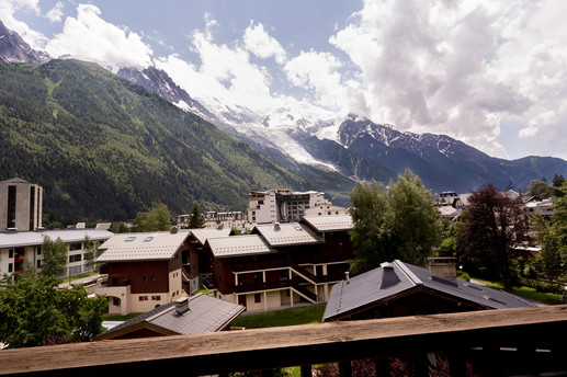 Chamonix apartment with view
