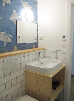 Rental Studio interior design in Chamonix