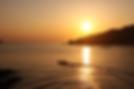 漁生浦の夕日