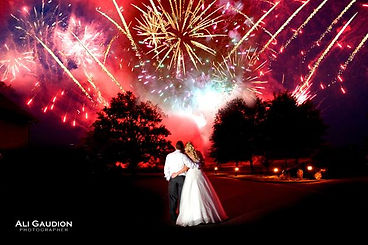 wedding firework display west sussex