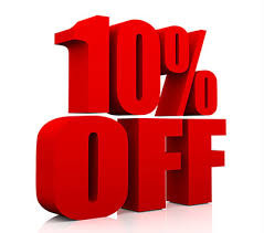 October 2017 Special: 10% Discount On Labor Up to $100 For Any Mechanical Repair or Service