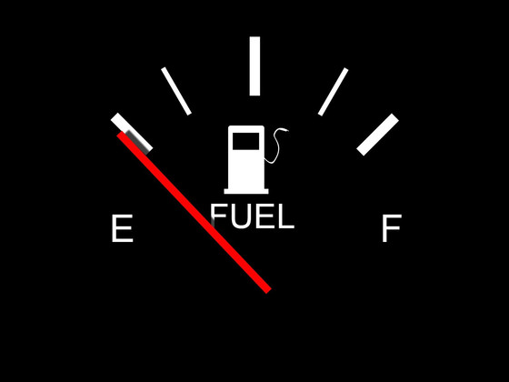 Low Fuel Light On....How Far Can You Go?
