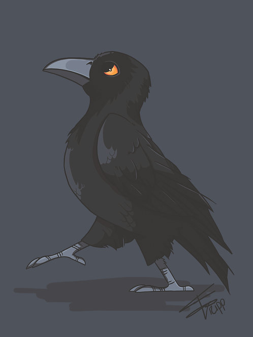 Corbeau - Impression