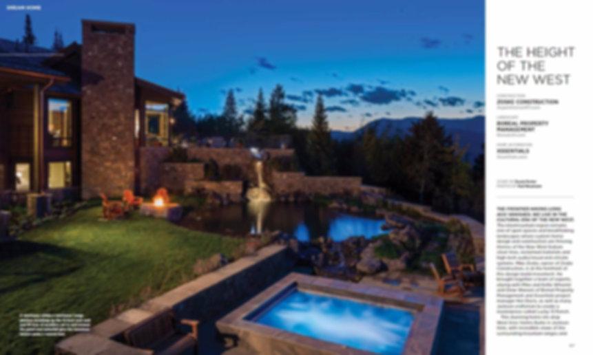 Interior Design, Kitchen, End Grain Butcher Block, Tile, Cabinets, Pendant Lights, Soffit, Copper, Hood, Jackson Hole, Wyoming, Furniture, Bar Stools