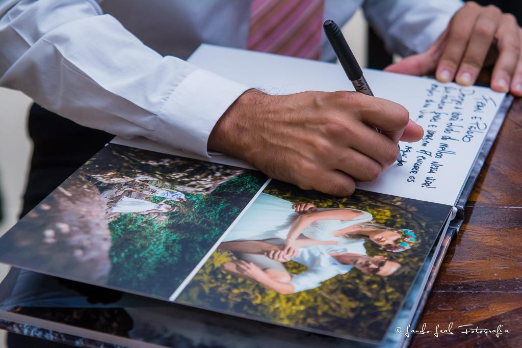 Álbum assinatura fran e jhonatam