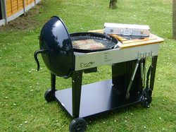 Holiday Parks In Hastings. BBQ Area
