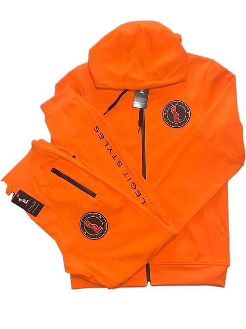 Everything Legit Tech Suit - Orange