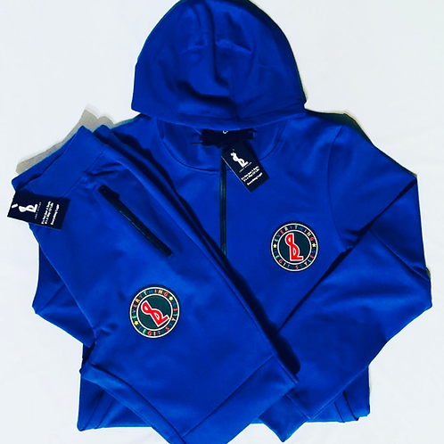 Everything Legit Tech Sweat Suit - Blue