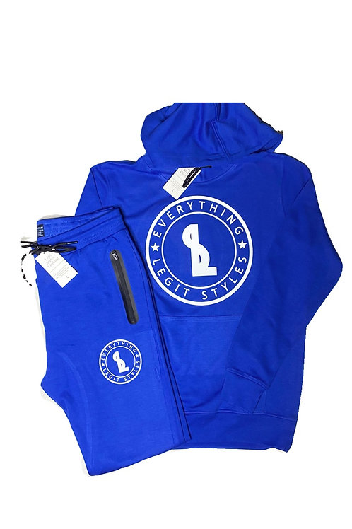 Everything Legit Pullover Track Suit