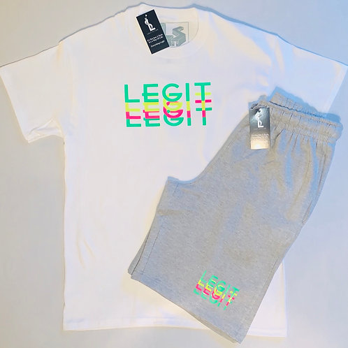 Legit Neon Short Set