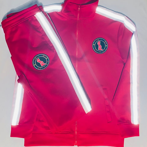 Everything Legit 3M Track Suit - Red