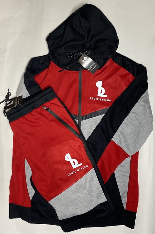 LS Two -toned Track Suit