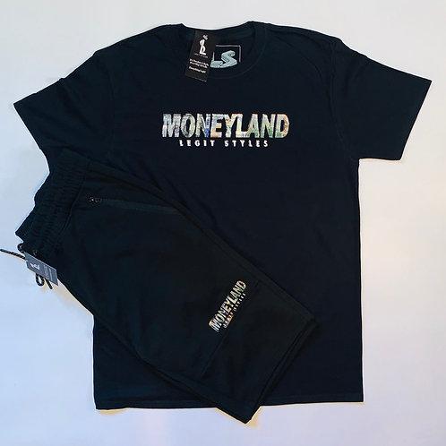 Moneyland Short Set