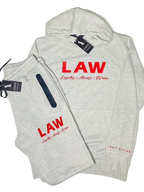 Law Pullover Track Suit
