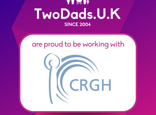 CRGH re-signs with TwoDads UK for the second year running