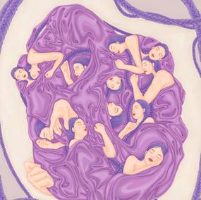 piece of memory (purple)