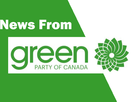 Green Party of Canada Leadership Contest Announcement