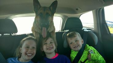 Tikka kids in car.jpg