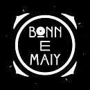 Bonn E Maiy logo WHT BLK.png
