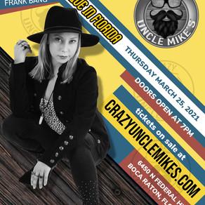 Come see Bonn LIVE in Boca Raton, FL!