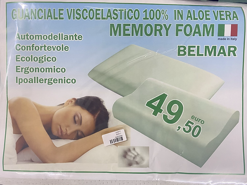 2 x Memory Pillows (Neck Shaped)