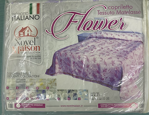 Bed Spread with flower design