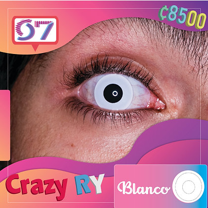Crazy Lens White 2 / Blanco