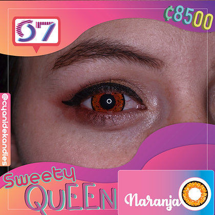 Sweety Queen Orange / Naranja