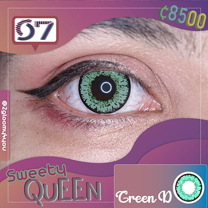 Sweety Queen Green L