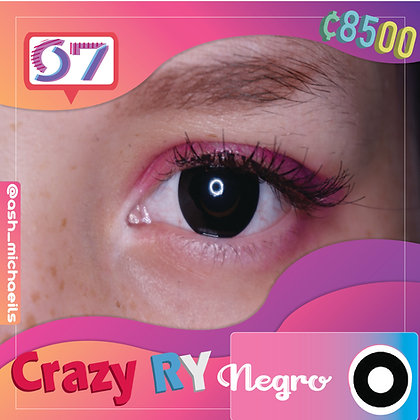 Crazy Lens Black / Negro