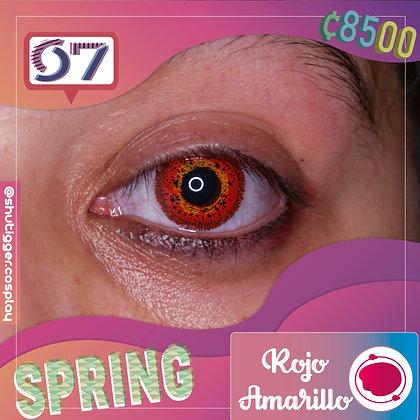 Spring Red Bright / Rojo con Amarillo
