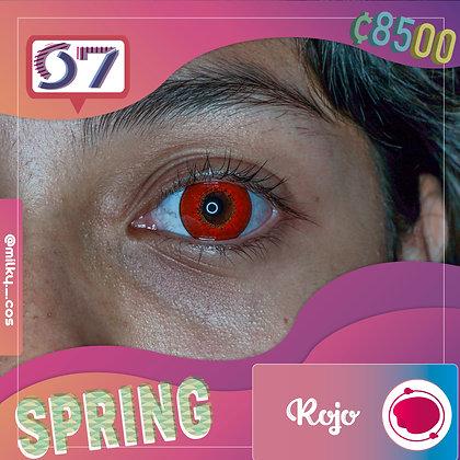 Spring Red / Rojo