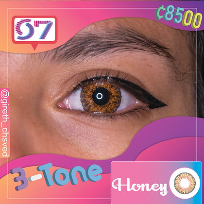 3-Tone Honey /Cafe