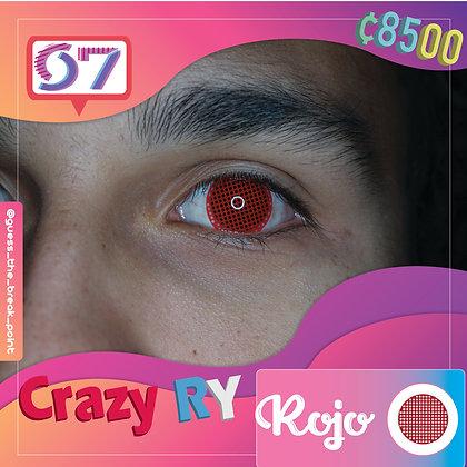 Crazy Lens Red / Rojo