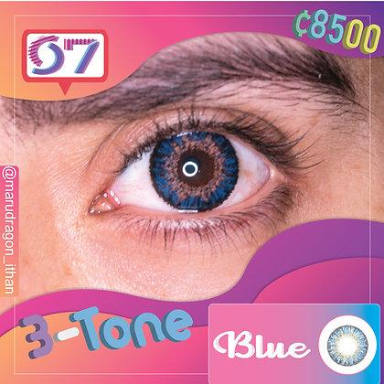 3-Tone Blue / Azul