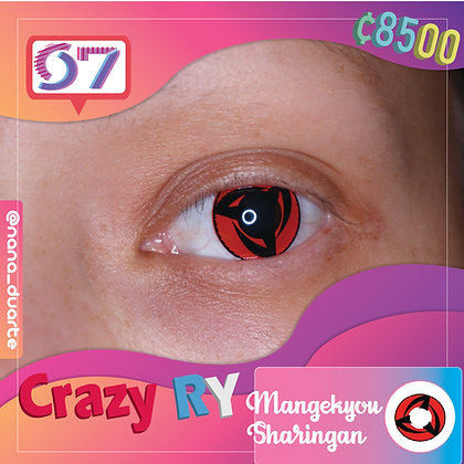 Crazy Lens Sharingan Mangekyou