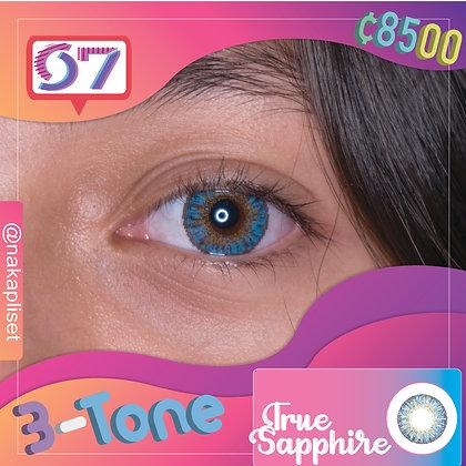 3-Tone True Sapphire / Azul Zafiro