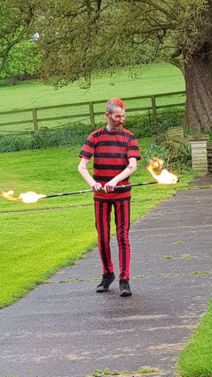 fire-dancer-event-woodborough-hall-nottinghamshire