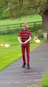 fire-dancer-event-woodborough-hall-nottinghamshire