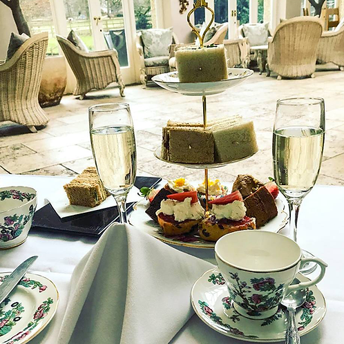 Afternoon Tea for 2 (With bubbles)