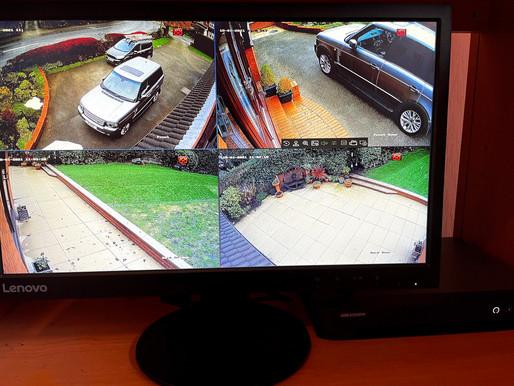 Residential CCTV Upgrade