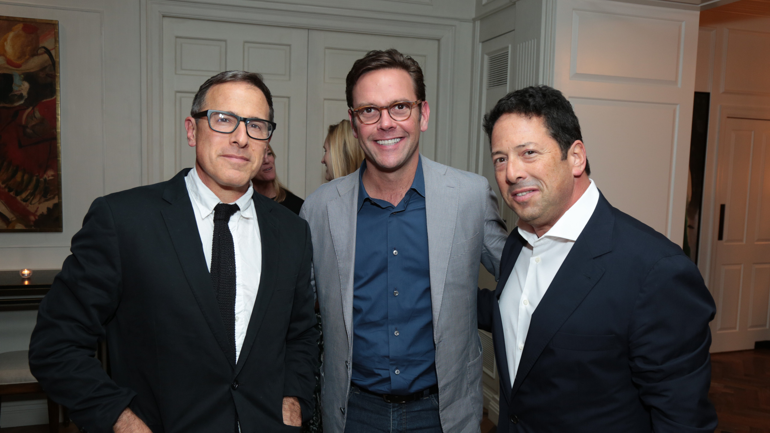 David O. Russell, James Murdoch, Josh Lieberman (Photo: Alex J. Berliner / ABImages )