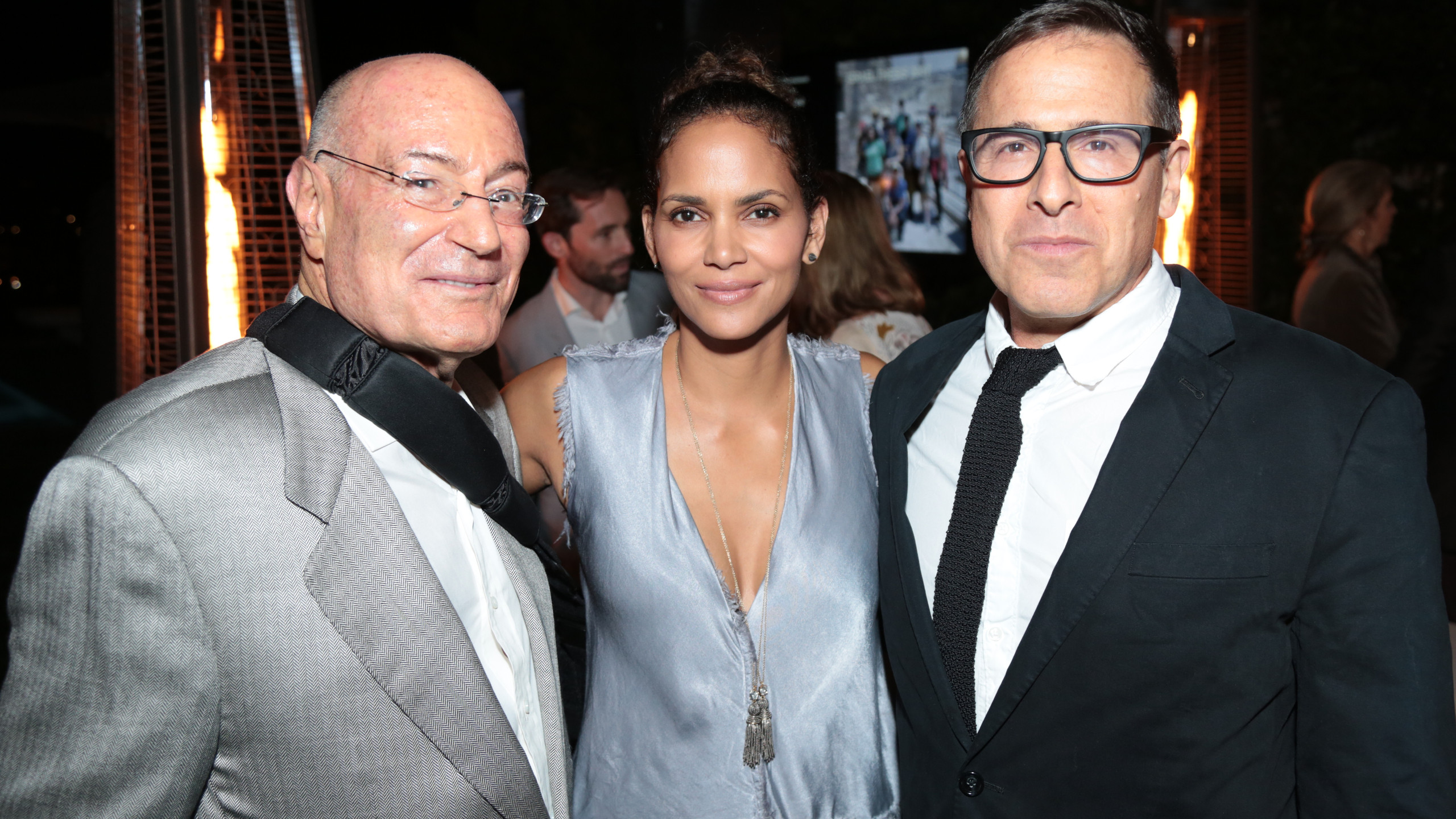 Honorees: Arnon Milchan, Halle Berry, David O. Russell  (Photo: Alex J. Berliner / ABImages )
