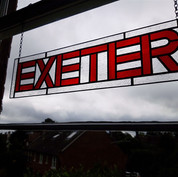 Exeter Large Stained Glass Suncatcher
