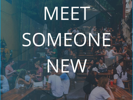 Online Event - Bump Into Someone New